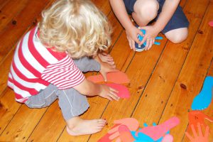 kids using toys in action kids